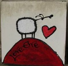 Art Painting by Ann Gadd includes Love Ewe, this example of Contemporary Art has inspired this exceptionally talented artist. View other Paintings by Ann Gadd in our Online Art Gallery. Affordable Art, Glee, Online Art Gallery, Contemporary Art, Ann, Hearts, African, Paintings, Make It Yourself