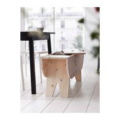 Banco con cajón para el comedor http://ini.es/1BucfsW #Decoración, #Ikea, #Muebles