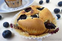 Classic Blueberry Muffins | Foodblog rehlein backt
