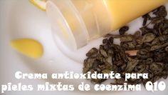 Crema casera antioxidante de coenzima Q10