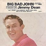 Jimmy Dean, Big Bad John, 45 rpm Record with Picture Sleeve, 1961