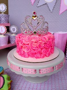 Princess Cake ....doesn't look to hard to make might try it for my goddaughter