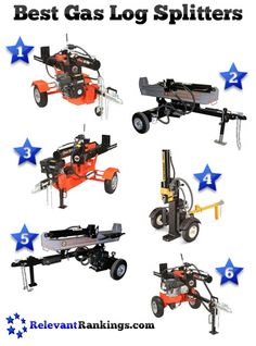 Reviews of the best gas powered log splitters as rated by relevantrankings.com Firewood Logs, Firewood Storage, Hydraulic Ram, Hunting Land, Family Matters, Disaster Preparedness, Organic Farming, Diy Home Improvement, Cabin Ideas