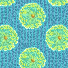 Soul Blossoms - Yardage (AB63.OCE) by Amy Butler for Westminster Fabrics | SouthernFabric.com