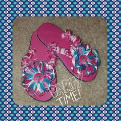 Hey, I found this really awesome Etsy listing at https://www.etsy.com/listing/504711297/trolls-poppy-flip-flops-this-listing-is