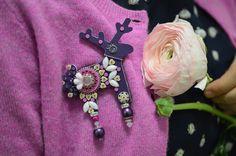 Přivítejte astronomické jaro s novým jelenem! Brooch, Jewelry, Jewlery, Jewerly, Brooches, Schmuck, Jewels, Jewelery, Fine Jewelry