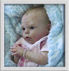 TINKERBELL NURSERY Helen Jalland reborn baby girl Prototype doll Bountiful Baby