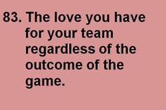 love for your team