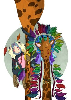Giraffe Indian
