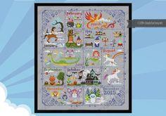 Magical Creatures Calendar - Products