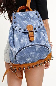 Convertible Book Bag Bags Cute Back To School Denim Backpack