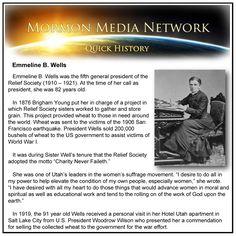 MormonMediaNetwork.com -- Emmeline B. Wells