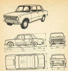 old car blueprint two. blueprint auto antiguo dos