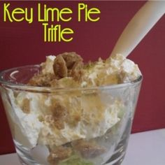 Key Lime Pie Trifle..yum! Can't wait to try this:)