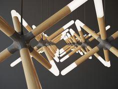 Lighting Design | Architectural Lighting | Illumination | Cross Lamp by Sergey Buldygin, #design #light