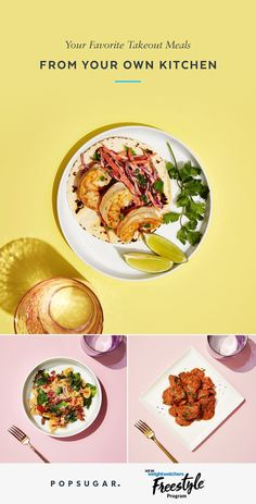 How to make healthy, takeout-style meals at home. Good Healthy Recipes, Ww Recipes, Copycat Recipes, Healthy Cooking, Cooking Recipes, Eat Healthy, Seafood Recipes, Delicious Recipes, Chicken Recipes
