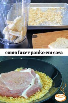 Como fazer panko - é simples e barato. como fazer panko. Pilotando um Fogão b8ab81176adaf