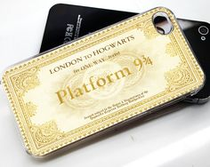 Harry potter platform iphone case 5, 4/4s, samsung galaxy S3, samsung galaxy S4 case