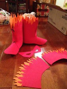 Firestar costume
