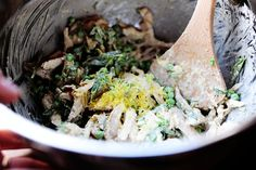 Lemon Basil Chicken Salad; recipe: Ree Drummond (The Pioneer Woman) #maindish #lunch