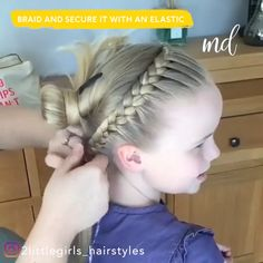 These hairstyles will give you some refreshing hair inspo! These hairstyles will give you some refreshing hair inspo! Baby Girl Hairstyles, Kids Braided Hairstyles, Hairstyles For School, Toddler Hairstyles, Little Girl Wedding Hairstyles, Active Hairstyles, Cute Hairstyles For Kids, Princess Hairstyles, Girl Hair Dos