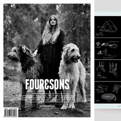 Lovely feature in Four & Sons (@fourandsons) latest issue. #fourandsons #architecturefordogs