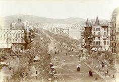 Passeig de Gràcia  1910.