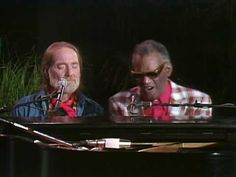 Willie Nelson with Ray Charles - Seven Spanish Angels - YouTube