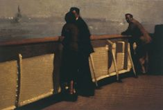 """Journey's End - Anne Magill (15""""x22"""") Paper: 310 gsm Hahnemuhle mould made paper"""