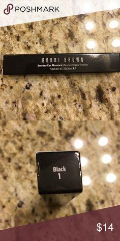 New In Box Bobbi Brown Smokey Eye Mascara New in box. Color Black 1 Bobbi Brown Makeup Mascara