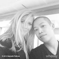 Pin for Later: A Guide to Gwyneth Paltrow's Selfie Style The Fashionable Selfie She buddied up with designer Jason Wu.  Source: Gwyneth Paltrow on WhoSay