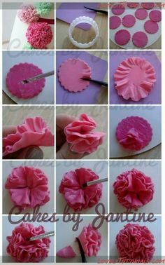 Details about Cake Decor Tool Sugar Fondant Gum Paste Icing Calla Lily Flower Cutter Mold HOT Fondant Rose, Buttercream Flowers, Fondant Flowers, Fondant Cakes, Fondant Flower Tutorial, Cake Tutorial, Creative Cake Decorating, Cake Decorating Tutorials, Decors Pate A Sucre