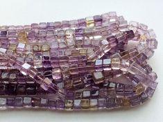 Ametrine Beads Ametrine Plain Box Beads Ametrine by gemsforjewels