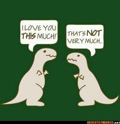 /: Poor T-Rex!