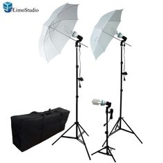 LimoStudio Photography Photo Portrait Studio 600W Triple Continuous Umbrella Lighting Kit - 2 x White Umbrella Lighitng, 1 x Table Top Mini Lighting Kit, AGG1210 Promo - http://mydailypromo.com/limostudio-photography-photo-portrait-studio-600w-triple-continuous-umbrella-lighting-kit-2-x-white-umbrella-lighitng-1-x-table-top-mini-lighting-kit-agg1210-promo.html