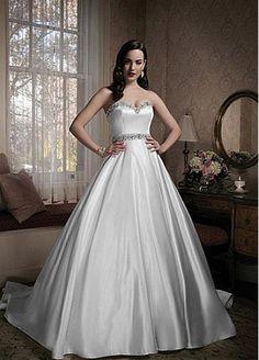Sweetheart Neckline Ball Gown Wedding Dresss