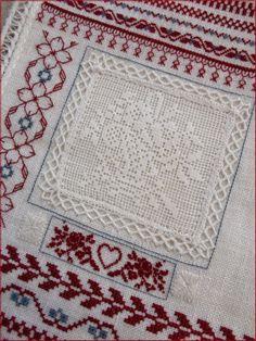 Gonnie's embroidery on Steekjes & Kruisjes van Marijke