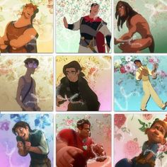 Disney dudes (: