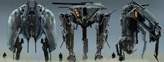 concept robots: Concept art from PLUG