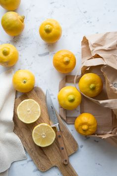 Bergamot fruits :: Photographed and styled by Sonja Dahlgren