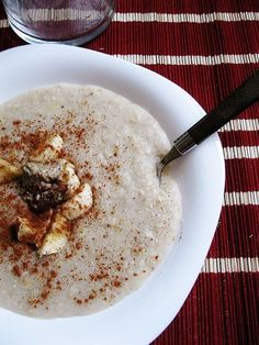 Breakfast: Buckwheat Porridge: Whole grains are great for detoxing, because they help keep everything moving in your gut. If you're over oatmeal, then try this buckwheat porridge recipe (and once you've clicked on the link, keep clicking through for more whole grain hot cereal ideas).