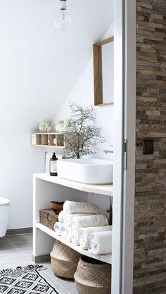 Si tu baño es pequeño no lo dudes: Pintura blanca #pinturabaño