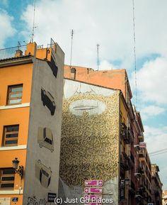 Outstanding Example of Street Art Valencia Valencia graffiti | Valencia street art #Valencia #streetart #murals #urbanart