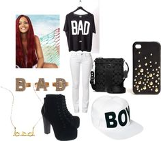 """""""Bad.."""" by jahlah on Polyvore"""