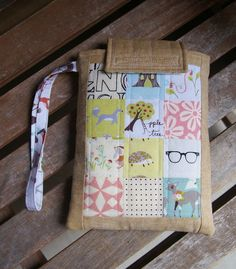 Leapfrog Scribble and Write patchwork gadget case at Fabric Mutt