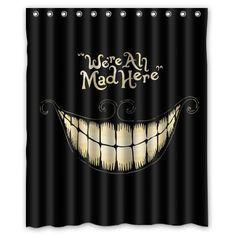 Generic Alice in Wonderland Shower Curtain 60-Inch By 72-Inch