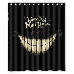 Generic Alice in Wonderland Shower Curtain 60-Inch By 72-Inch