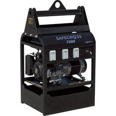 SafeCross Anti-Theft Generator - 7200 Surge Watts, 6000 Rated Watts, Model# SAFECROSS 7200  http://www.prepareforapocalypse.com/index.php?c=1328&n=5006643011&i=B005DKN28O&x=SafeCross_Anti_Theft_Generator_7200_Surge_Watts_6000_Rated_Watts_Model_SAFECROSS_7200
