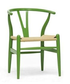 Hans J Wegner for Carl Hansen & Son Green Wishbone Chair - Things That Made Me Smile This Year | Godard Girl : The Taxonomies of Design