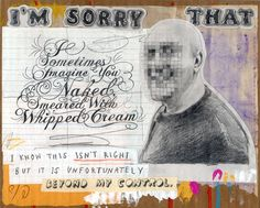David Fullarton is a visual artist who combines imagery and text.